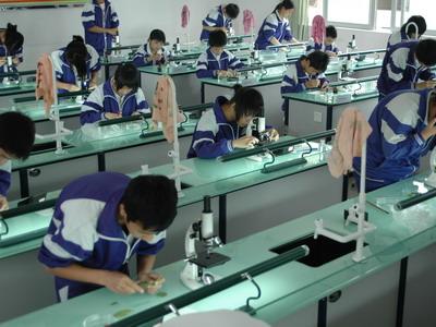 上海中学购置50台生物